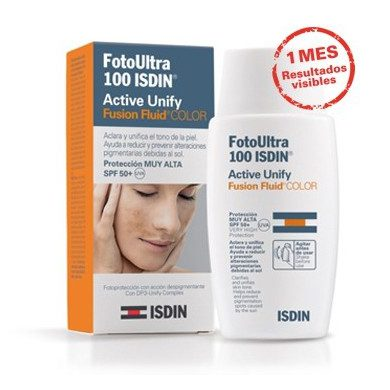 FOTOULTRA ISDIN ACTIVE UNIFY FUSION FLUID COLOR - (50 ML)
