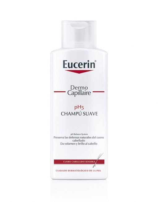 Eucerin Dermo Capillaire Champú Suave PH5 (250ml)