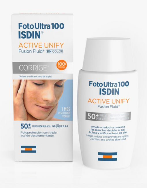 Isdin FotoUltra 100 Active Unify Fusion Fluid sin color (50ml)