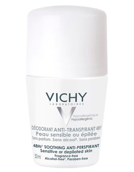 Vichy Desodorante Anti-Transpirante 48h Roll-on Piel Sensible (50ml)