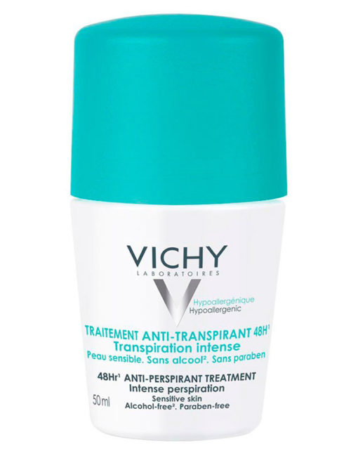 Vichy Desodorante Anti-Transpirante 48h Roll-on Transpiración Intensa (50ml)