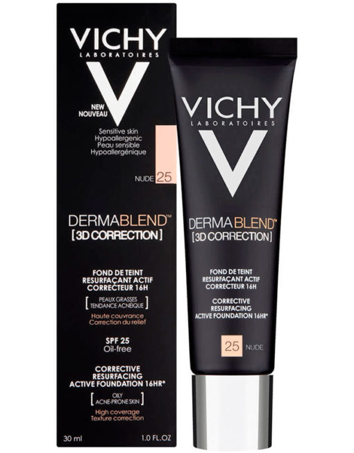 Vichy Dermablend 3D Correction - 25 Nude
