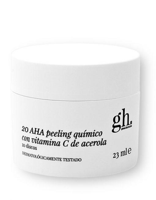 GH 20 AHA Peeling Químico con Vitamina C de Acerola (23ml - 20 discos)